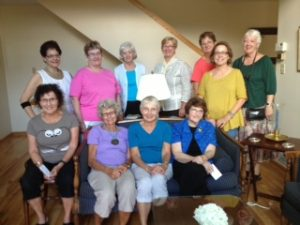 The MinneTESOL retirees at the September potluck.